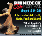 September 26-28, 2014 - Rhinebeck Arts Festival