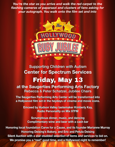 May 13 - Center for Spectrum's Hollywood Ruby Jubilee