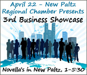 April 22, 2015 - New Paltz Regional Chamber of Commerce's 3rd Annual Business Showcase