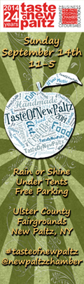 September 14 - 24th Annual TASTE OF NEW PALTZ